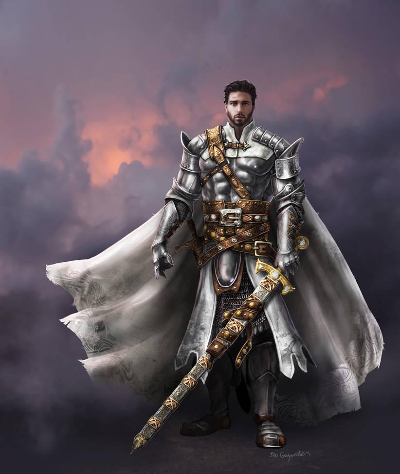 The White Knight by bobgreyvenstein