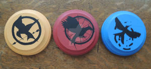 Hunger Games Trilogy Coasters