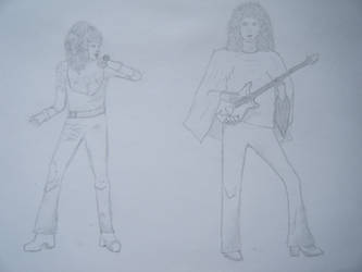 Freddie and Brian by Mercury-the-Queen