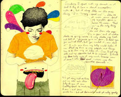 Imaginary Friend 2 - Journal21 by LadyOrlandoArt