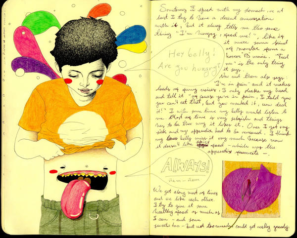Imaginary Friend 2 - Journal21 by LadyOrlandoArt