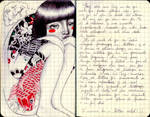 Tattoed Girl - journal6