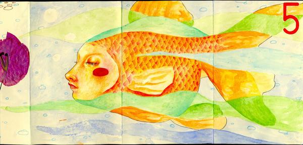 Fish by LadyOrlandoArt