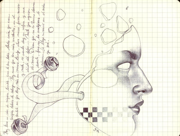 Migraine by LadyOrlandoArt