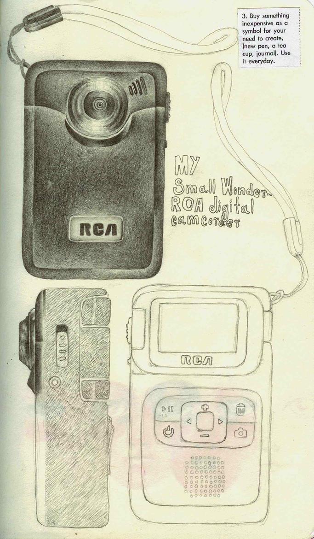 My RCA Camcorder by LadyOrlandoArt