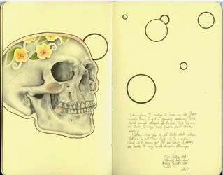 Calaca - journal by LadyOrlandoArt