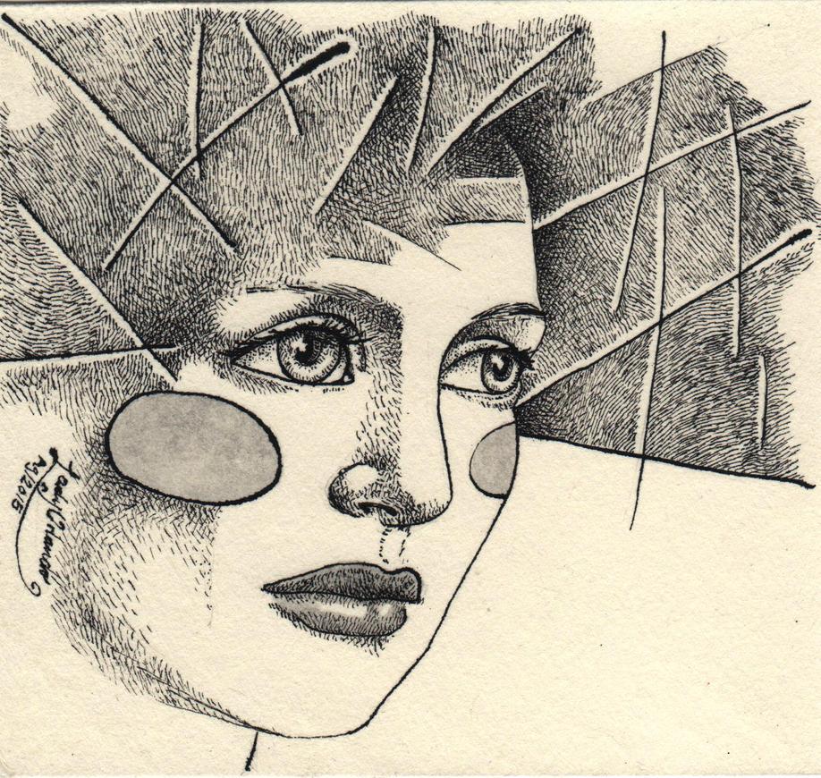 Woman by LadyOrlandoArt