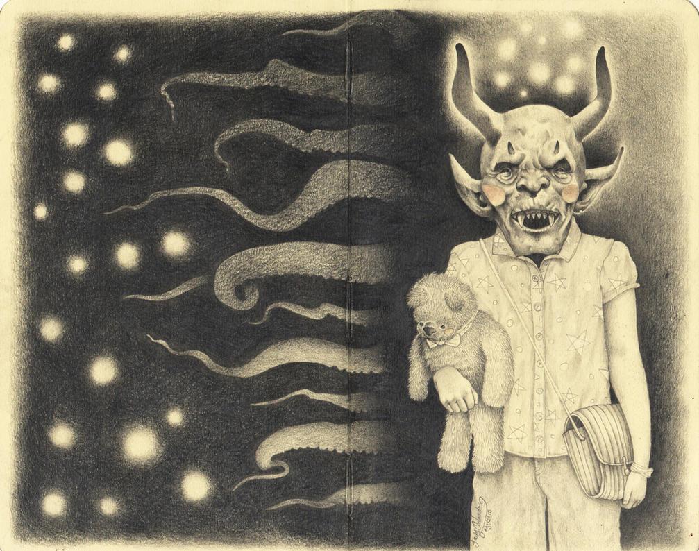 Devil child by LadyOrlandoArt