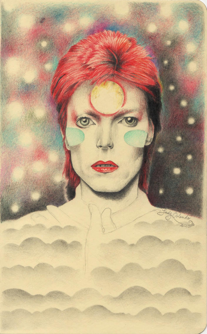 Starman by LadyOrlandoArt