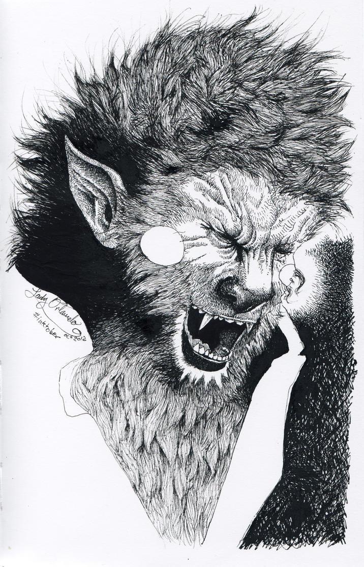 Werewolf by LadyOrlandoArt