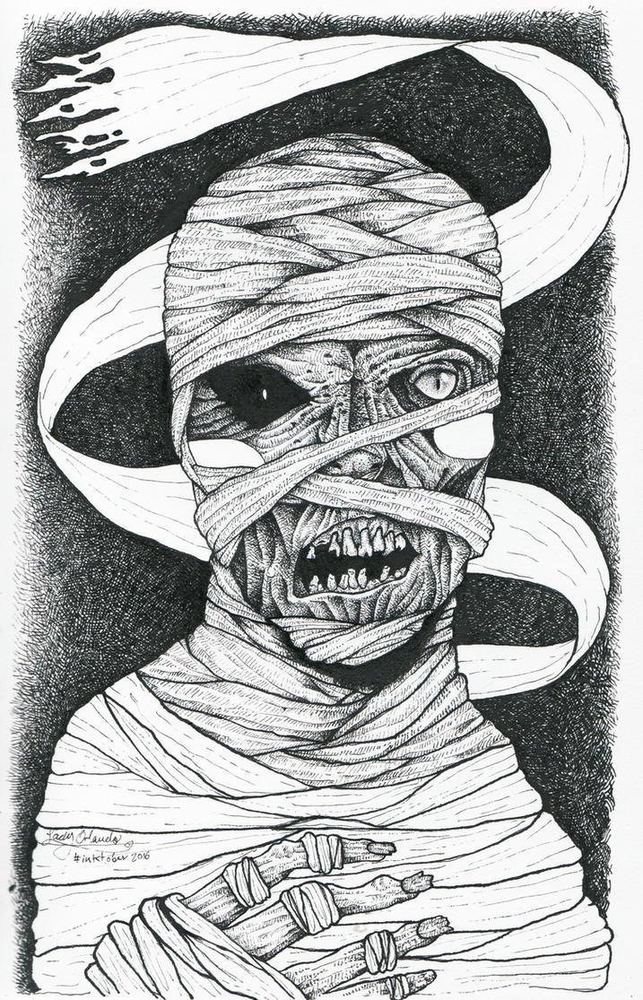 Mummy by LadyOrlandoArt
