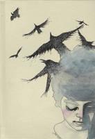 The Crows by LadyOrlandoArt