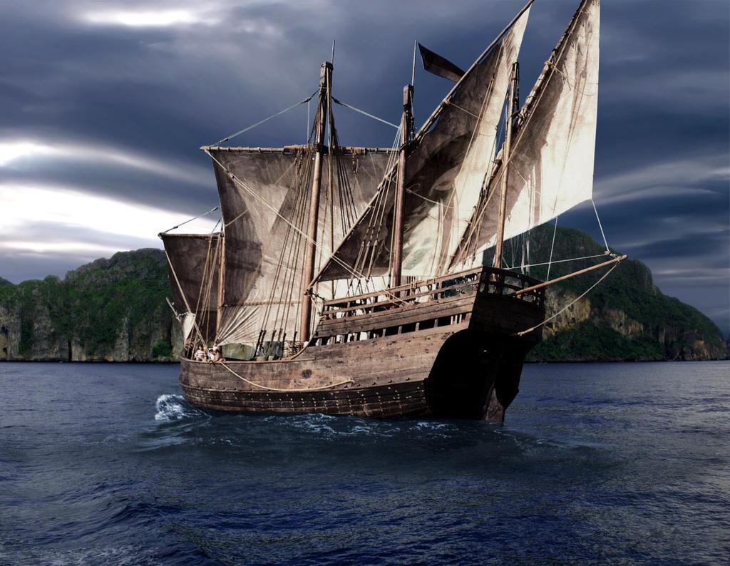Bateau pirate by moicom on deviantart - Image bateau pirate ...