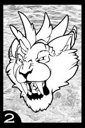 Winged Felines Coloring Book: Page 2 by dream-paw