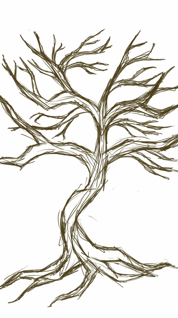 SKETCH A TREE by Reavean
