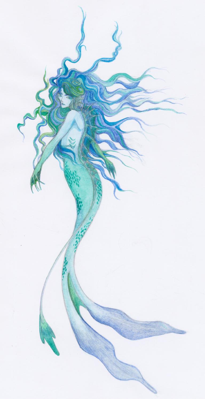 mermaid by frandree