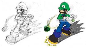 Mario: Luigi Kicks Ass