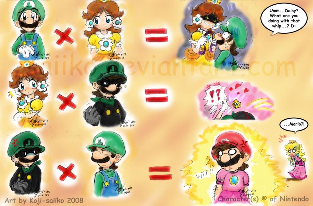 Mario: Relationship Issues by saiiko on DeviantArt