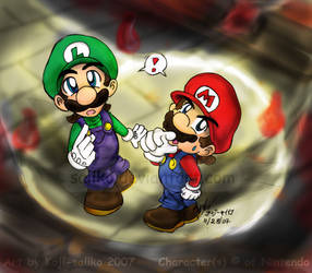 Mario: See that switch... by saiiko
