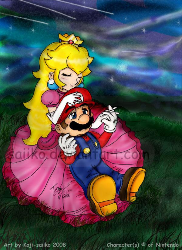 Mario: Starry Night by saiiko