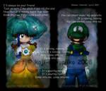 Mario: -SONG- It's raining...