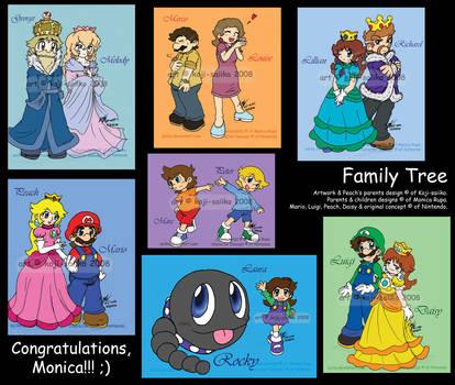 Mario: Family Tree by saiiko
