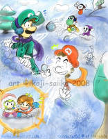 Mario's Family Portrait by MC-Ash-Tray on DeviantArt |Luigis Family Tree