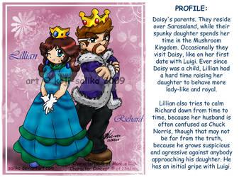 Mario: P2 - Daisy's Parents by saiiko