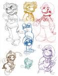 Mario: Doodlz - Mario 2