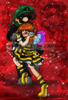 Mario: Dance, my little bee by saiiko
