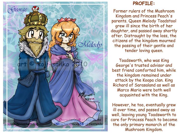 Please Submit Your Mushroom Kingdom Monarch Theories Here - Kinda