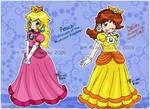 Mario: Peach and Daisy