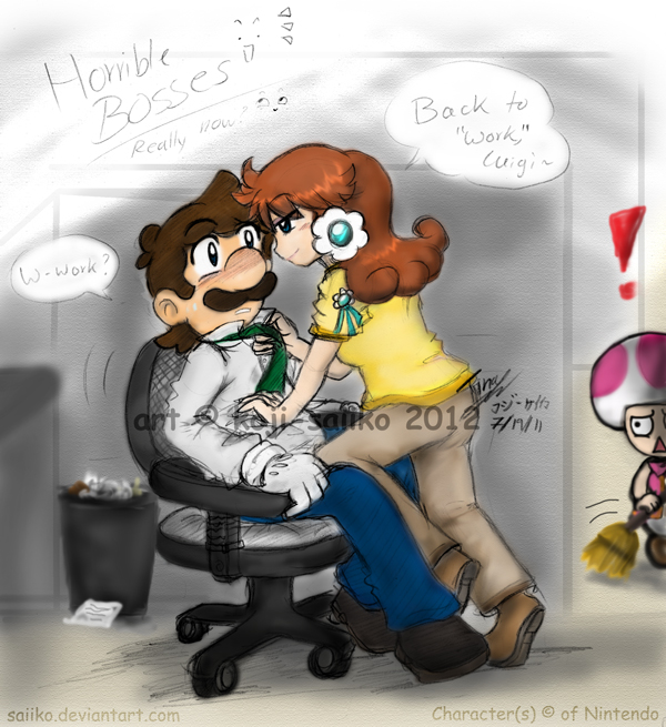 Mario: in Horrible Bosses - Get to work... by saiiko