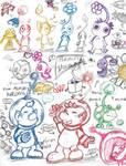 Pikmin: Pencil Doodlz