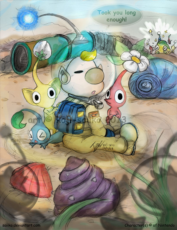 Pikmin About Time By Saiiko On Deviantart