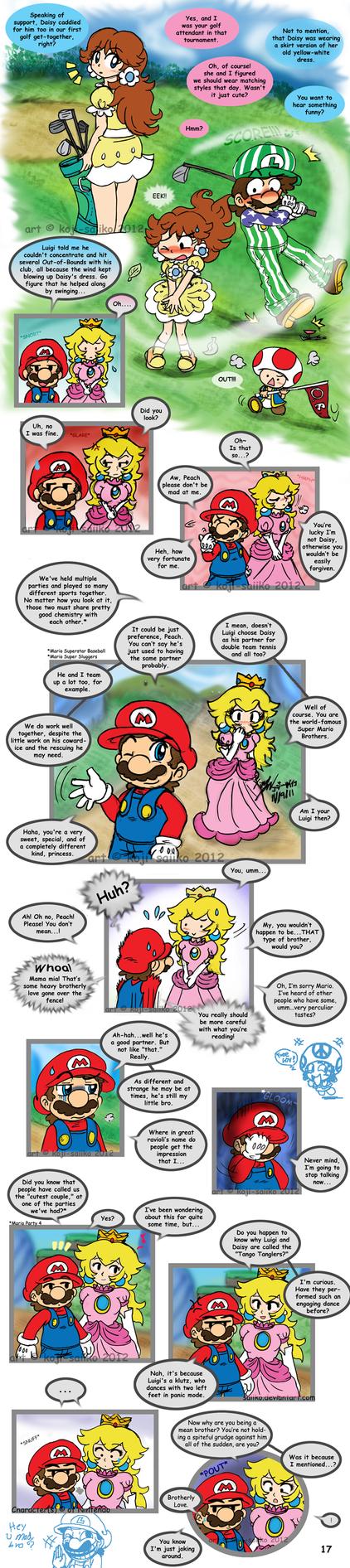 Mario: Alone at Home Pg 17 (...END) by saiiko