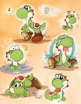 Mario: Doodlz - Yoshi