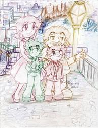 Mario: Family Night Out by saiiko