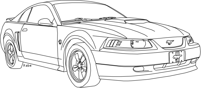 2001 ford mustang by rabebabe on deviantart