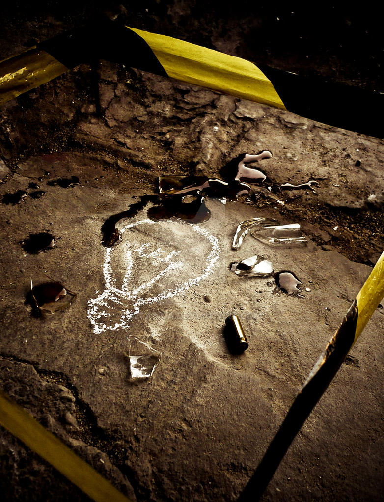 Crime Scene by qtadica