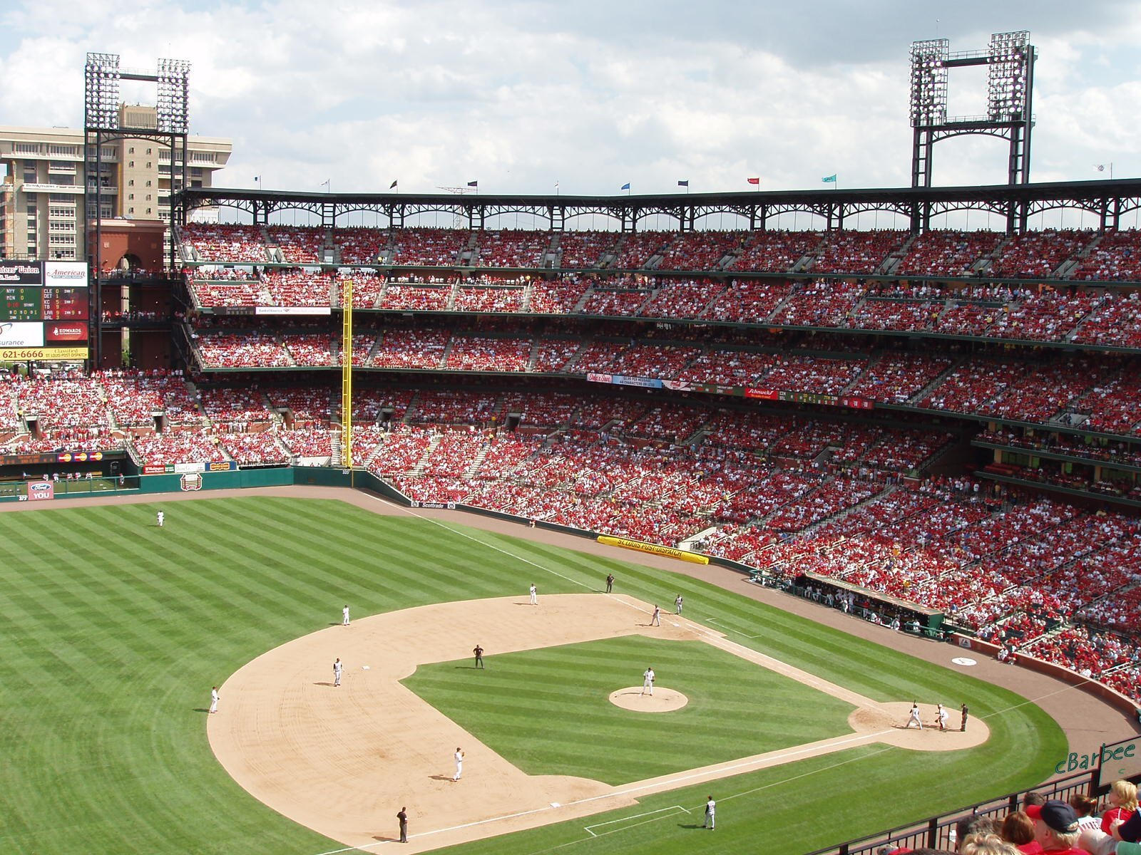busch stadium - easter sunday by americanina