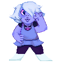 Tiny Amethyst by cosmichoney