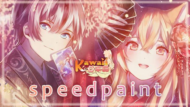 SPEEDPAINT | KawaiiNihongo | Jun, Riko