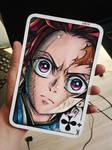 Tanjiro card art