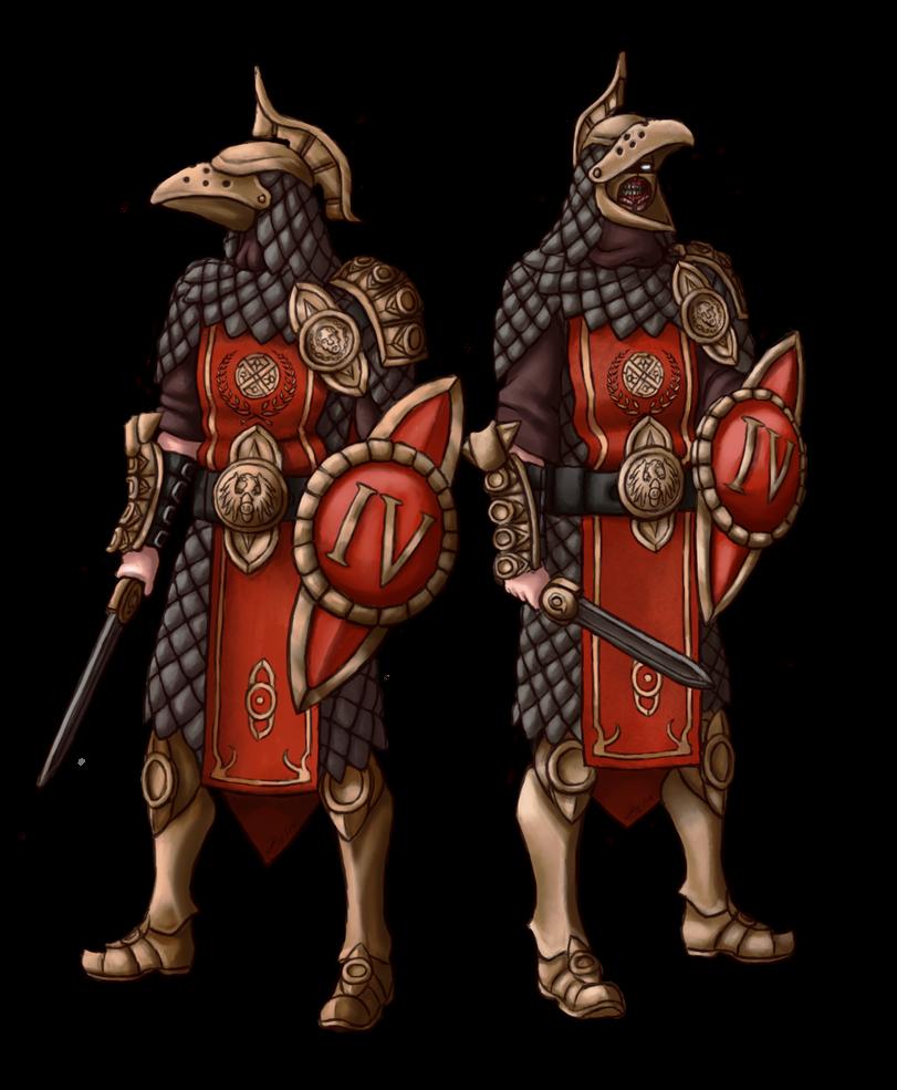 RPG Characters 2 - Bracko Crows by Brett-Neufeld