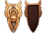 RPG Items - Shield of the Angels by Brett-Neufeld