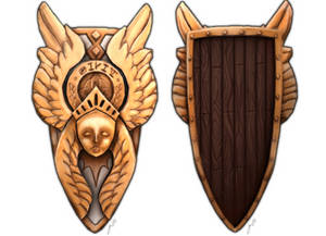 RPG Items - Shield of the Angels