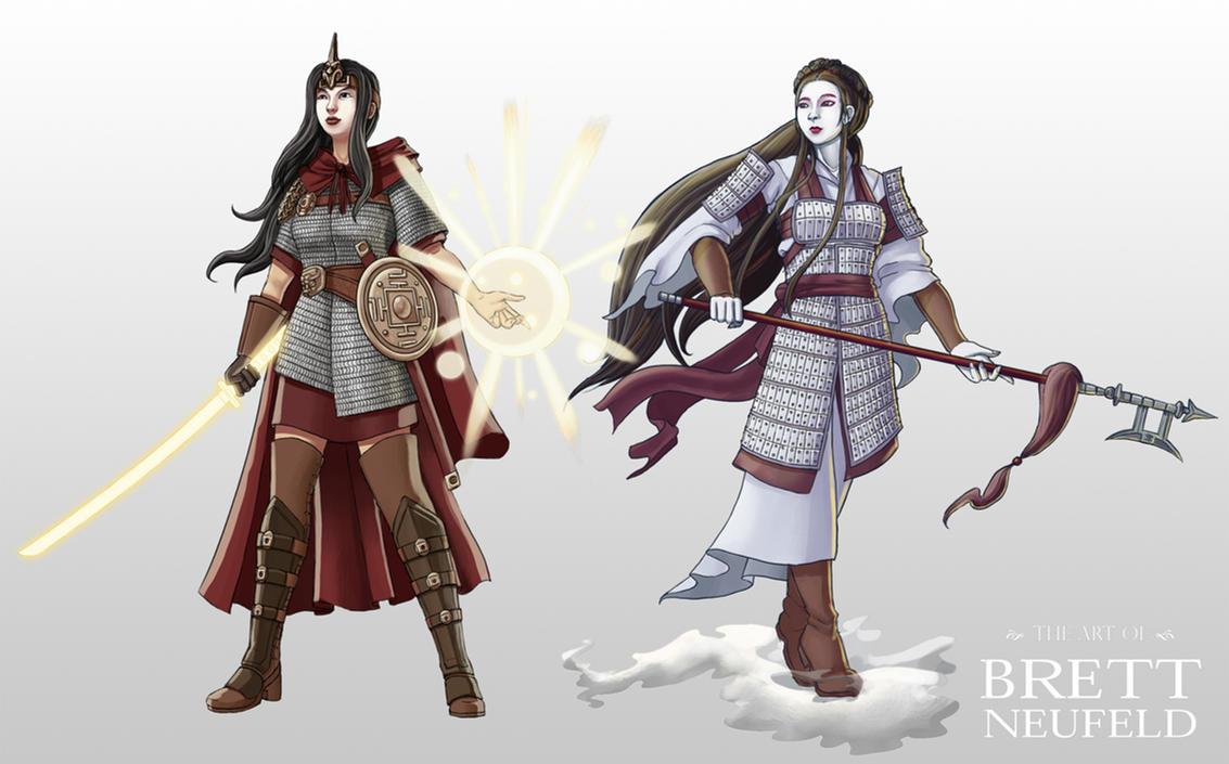 Asian Fantasy Characters By Brett Neufeld On Deviantart
