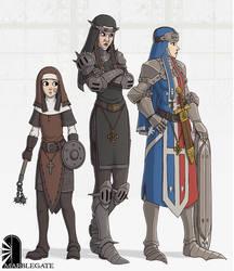 Warrior Nuns by Brett-Neufeld