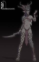 Black Elf Priestess